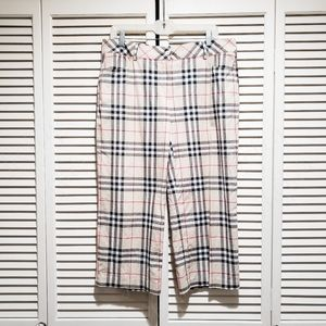 Womens Burberry Golf Pants